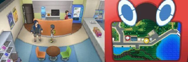 雑居ビル内2階のゲームフリークに居るモリモトに話しかける